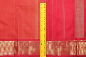 Traditional Design Handwoven Pure Silk Kanjivaram Saree - Pure Zari - PA 134 - Archives