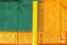 border detail of temple korvai border kanjivaram pure silk saree
