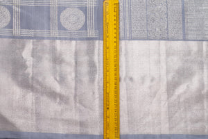 Traditional Design Handwoven Pure Silk Kanjivaram Saree - Pure Zari - PA 159 Archives