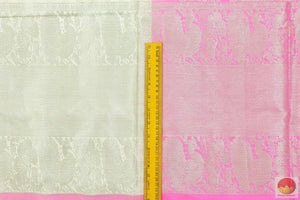 border detail of kanjivaram silk saree
