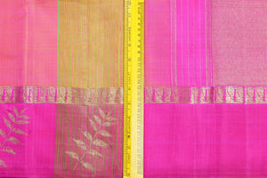 Traditional Design Handwoven Pure Silk Kanjivaram Saree - Pure Zari - PVM 0518 1412 Archives