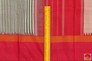 border details in kanjivaram silk saree