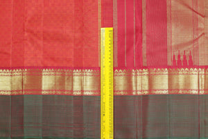 Traditional Design Handwoven Pure Silk Kanjivaram Saree - Pure Zari - PVM 0518 1434 Archives