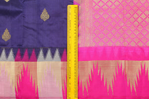 Traditional Design Handwoven Pure Silk Kanjivaram Saree - PVJL 0718 1539 Archives