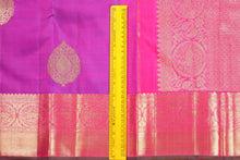 Traditional Design Handwoven Pure Silk Kanjivaram Saree - Pure Zari - PVJL 0718 1521