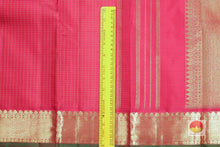 Traditional Design Handwoven Pure Silk Kanjivaram Saree - Pure Zari - PVAG 0818 1508