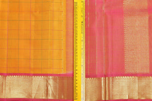 Traditional Design Handwoven Pure Silk Saree - Pure Zari - PVJL 0718 1507 Archives