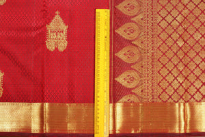 Traditional Design Handwoven Pure Silk Kanjivaram Saree - Pure Zari - PVJL 0718 1524 Archives