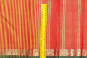 Traditional Design Handwoven Pure Silk Kanjivaram Saree - Pure Zari - PVM 0518 1416 Archives