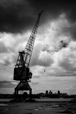 Crane on Cockatoo Island