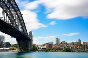 The Sydney Harbour Bridge and Kirribilli