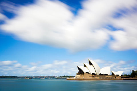 Sydney Opera House and Clouds