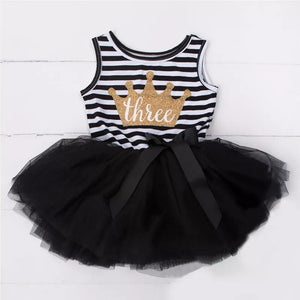 Three-nager - Black-Dresses & Tunics-[Calgary]-[Alberta]-[Canada]-[Affordable Children's Clothing]-Stinky Bunny
