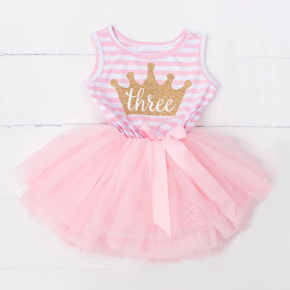 Three-nager - Pink-Dresses & Tunics-[Calgary]-[Alberta]-[Canada]-[Affordable Children's Clothing]-Stinky Bunny