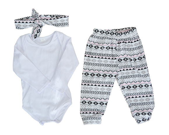 Aztec Love-Outfit Sets-[Calgary]-[Alberta]-[Canada]-[Affordable Children's Clothing]-Stinky Bunny