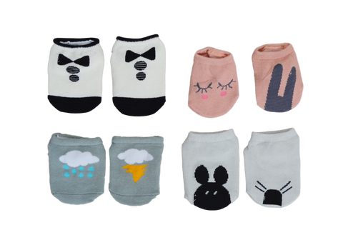 Where's My Sock? Tights & Socks | Stinky Bunny cute baby girl tights, trendy toddler socks