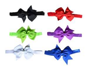Big Bunny Bows - 6-Pack Headbands | Stinky Bunny kids fashion clothing clearance sale, trendy toddler clothes on sale, kids fashion deals