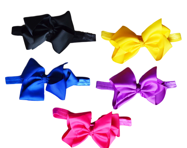 Bowtastics - Combo 1 Headbands | Stinky Bunny fashion headbands for toddlers, affordable infant headbands, cute kids headbands