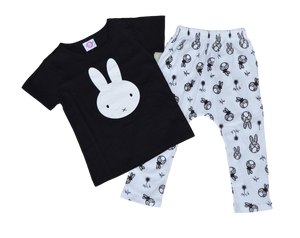 Bunnykins Outfit Sets | Stinky Bunny cute kids outfit sets, affordable kids fashion outfits, matched outfits for toddlers