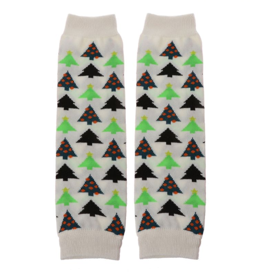 Baby Leggings - Christmas Trees