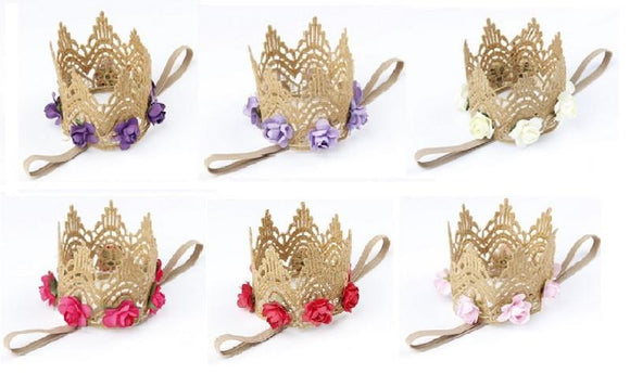 Rose Crowns-Headbands-[Calgary]-[Alberta]-[Canada]-[Affordable Children's Clothing]-Stinky Bunny
