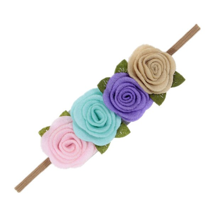 Flower Power Rose Headband