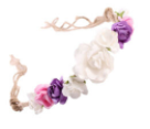 Tie-back Flower Crown Headband