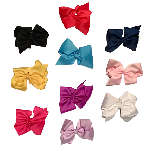 Bowtastics Clips - Solids Hair Clips | Stinky Bunny cute baby birthday outfits, trendy infant birthday clothes