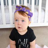Bunny Knots Dots - 6 Colours Available Headbands | Stinky Bunny fashion headbands for toddlers, affordable infant headbands, cute kids headbands