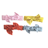 Bunny Knot Headwraps (4 Colours Available)-Headbands-[Calgary]-[Alberta]-[Canada]-[Affordable Children's Clothing]-Stinky Bunny