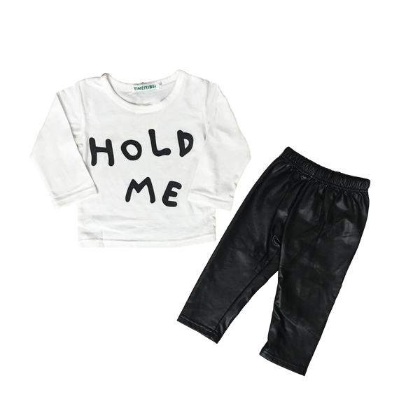 Hold Me Outfit Sets | Stinky Bunny cute kids outfit sets, affordable kids fashion outfits, matched outfits for toddlers