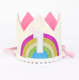 Over the Rainbow Crown-Headbands-[Calgary]-[Alberta]-[Canada]-[Affordable Children's Clothing]-Stinky Bunny