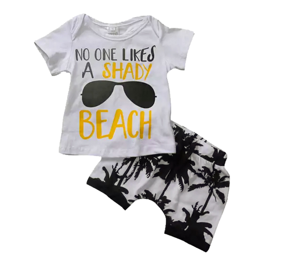 Shady Beach-Outfit Sets-[Calgary]-[Alberta]-[Canada]-[Affordable Children's Clothing]-Stinky Bunny