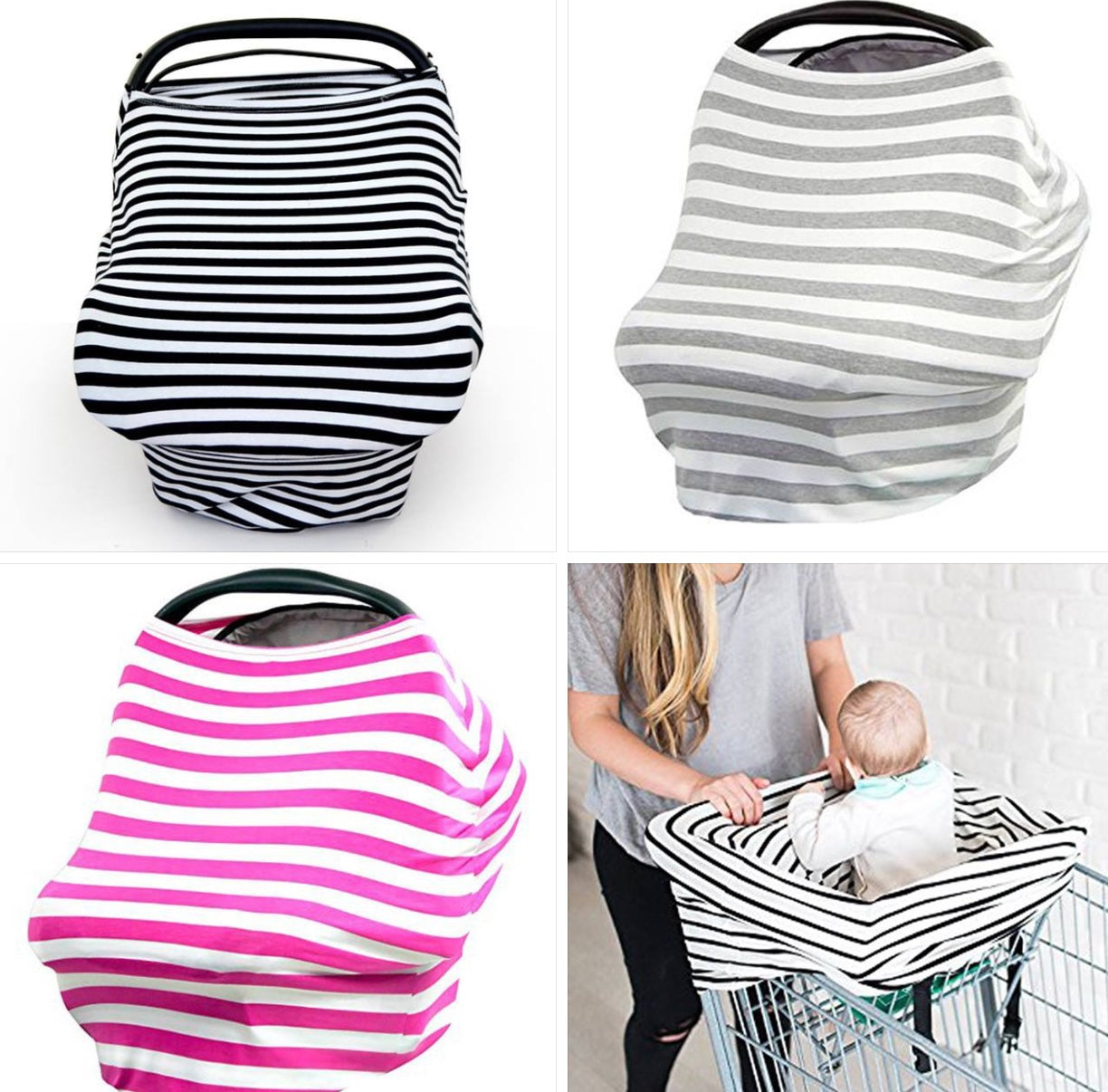 #MomLife 4-in-1 Cover - 5 Colors Available