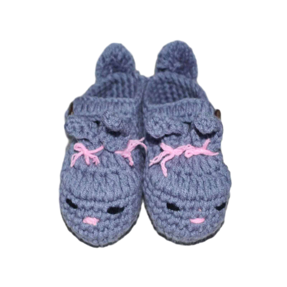 Handmade Bunny Slippers-Footwear-[Calgary]-[Alberta]-[Canada]-[Affordable Children's Clothing]-Stinky Bunny