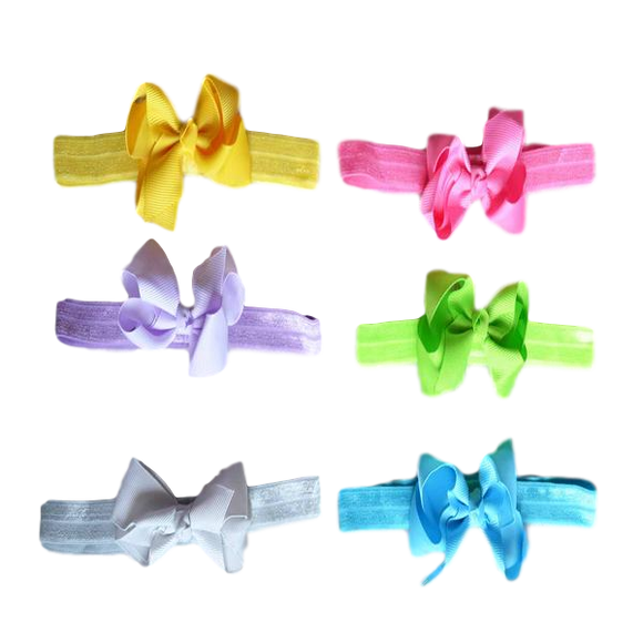 Lil Bunny Bows - Combo 2 Headbands | Stinky Bunny fashion headbands for toddlers, affordable infant headbands, cute kids headbands