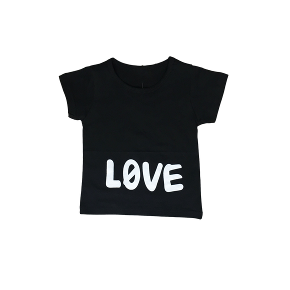 LOVE T-Shirt-Shirts-[Calgary]-[Alberta]-[Canada]-[Affordable Children's Clothing]-Stinky Bunny