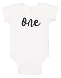 Custom 1st Birthday ONEsie (you choose design colour)