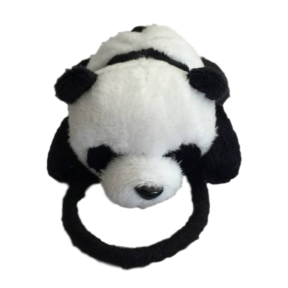 Panda Hair Elastic Hair Clips | Stinky Bunny baby fashion hair clips, trendy toddler hair clips