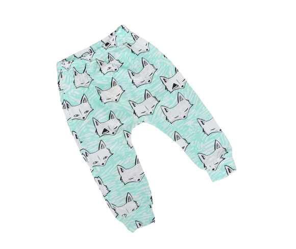 Fox Harem Pants-Pants-[Calgary]-[Alberta]-[Canada]-[Affordable Children's Clothing]-Stinky Bunny
