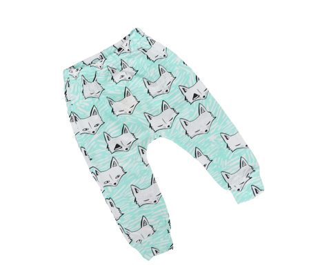 Fox Harem Pants Pants | Stinky Bunny kids fashion pants, inexpensive baby shorts, cute toddler shorts