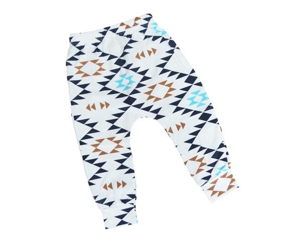 Aztec Harem Pants-Pants-[Calgary]-[Alberta]-[Canada]-[Affordable Children's Clothing]-Stinky Bunny