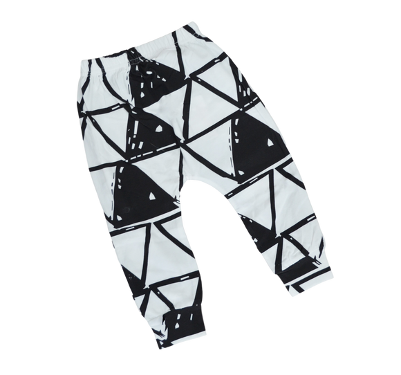 Triangle Harem Pants-Pants-[Calgary]-[Alberta]-[Canada]-[Affordable Children's Clothing]-Stinky Bunny