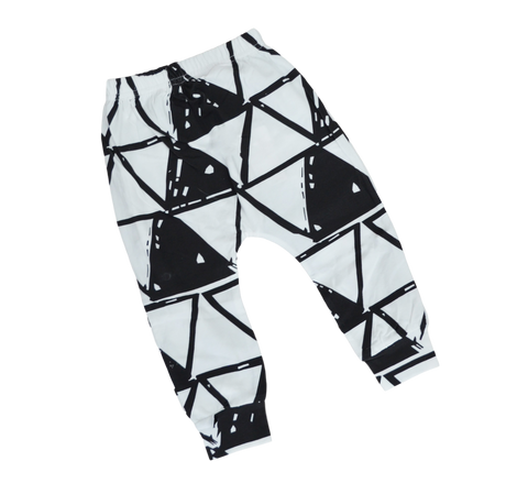 Triangle Harem Pants Pants | Stinky Bunny kids fashion pants, inexpensive baby shorts, cute toddler shorts
