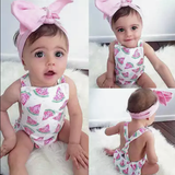 Watermelon Wonder-Rompers-[Calgary]-[Alberta]-[Canada]-[Affordable Children's Clothing]-Stinky Bunny