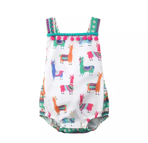 Llama Love-Rompers-[Calgary]-[Alberta]-[Canada]-[Affordable Children's Clothing]-Stinky Bunny