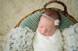Mohair Newborn Headbands - Sets of 2