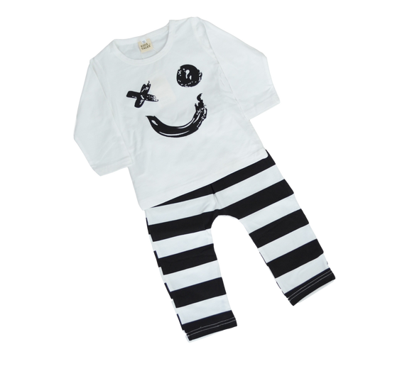 Smile-Outfit Sets-[Calgary]-[Alberta]-[Canada]-[Affordable Children's Clothing]-Stinky Bunny