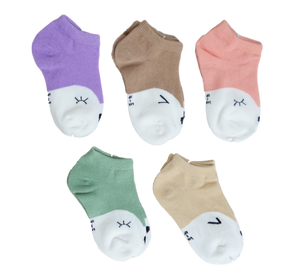 Wink Kids Socks - Set of 5 Tights & Socks | Stinky Bunny cute baby girl tights, trendy toddler socks