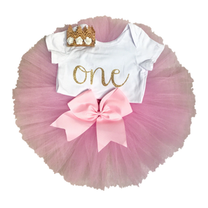 Classic Collection 1st & 2nd Birthday Outfits (Multiple Colours Available) Handmade Tutus | Stinky Bunny cute baby birthday outfits, trendy infant birthday clothes